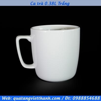 Ca trà 0.38L Trắng