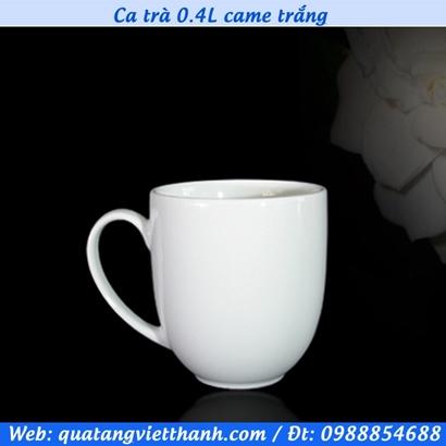 Ca trà 0.4L came trắng