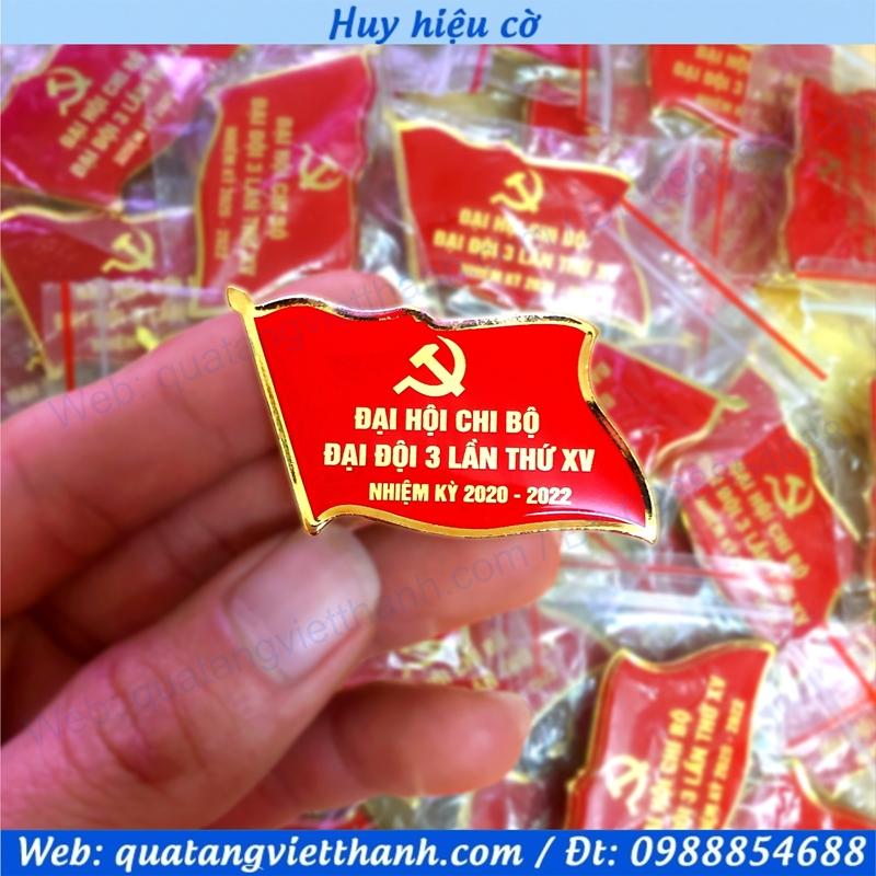 Huy hiệu cờ đảng mới