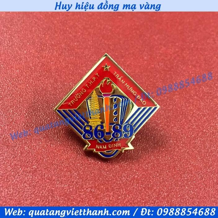 Huy hiệu đồng MV Nam Định