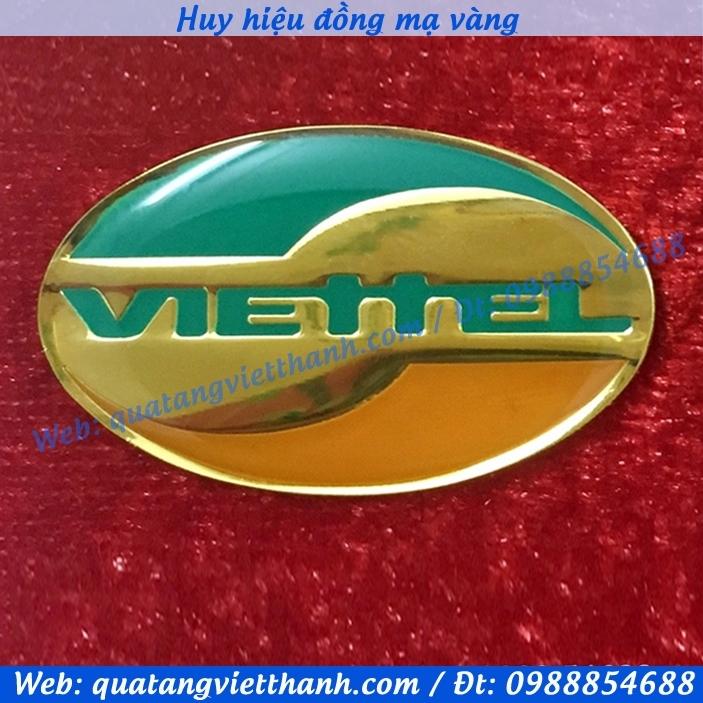 Huy hiệu đồng Viettel