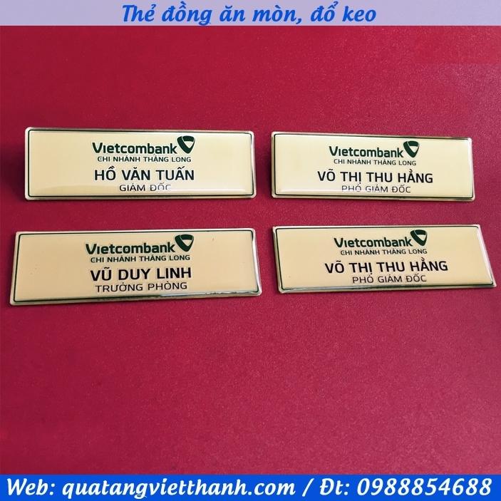 Thẻ đồng Vietcombank