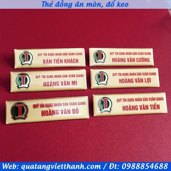 Thẻ đồng ăn mòn TD