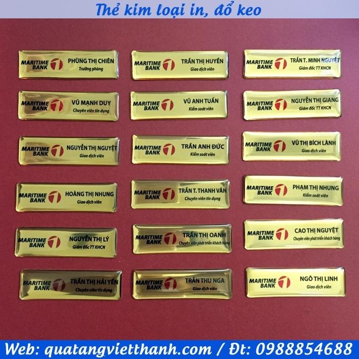 Thẻ kim loại MSB
