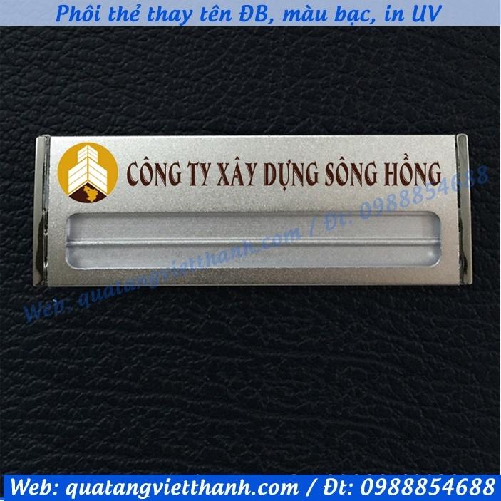 Thẻ thay tên ĐB3, bạc