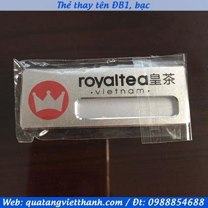 Thẻ thay tên ĐB1 - Royal