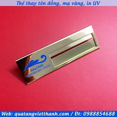 Thẻ thay tên đồng Ha Long